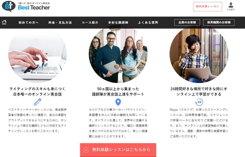 英作文が学べるオンライン英会話