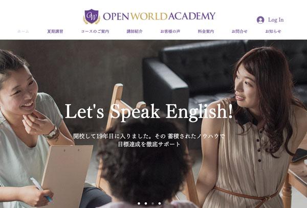 OPEN WORLD ACADEMY
